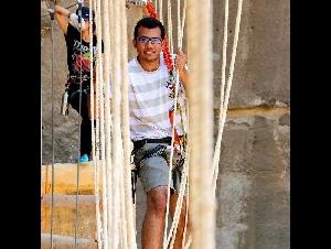 High Ropes Team Cave Church